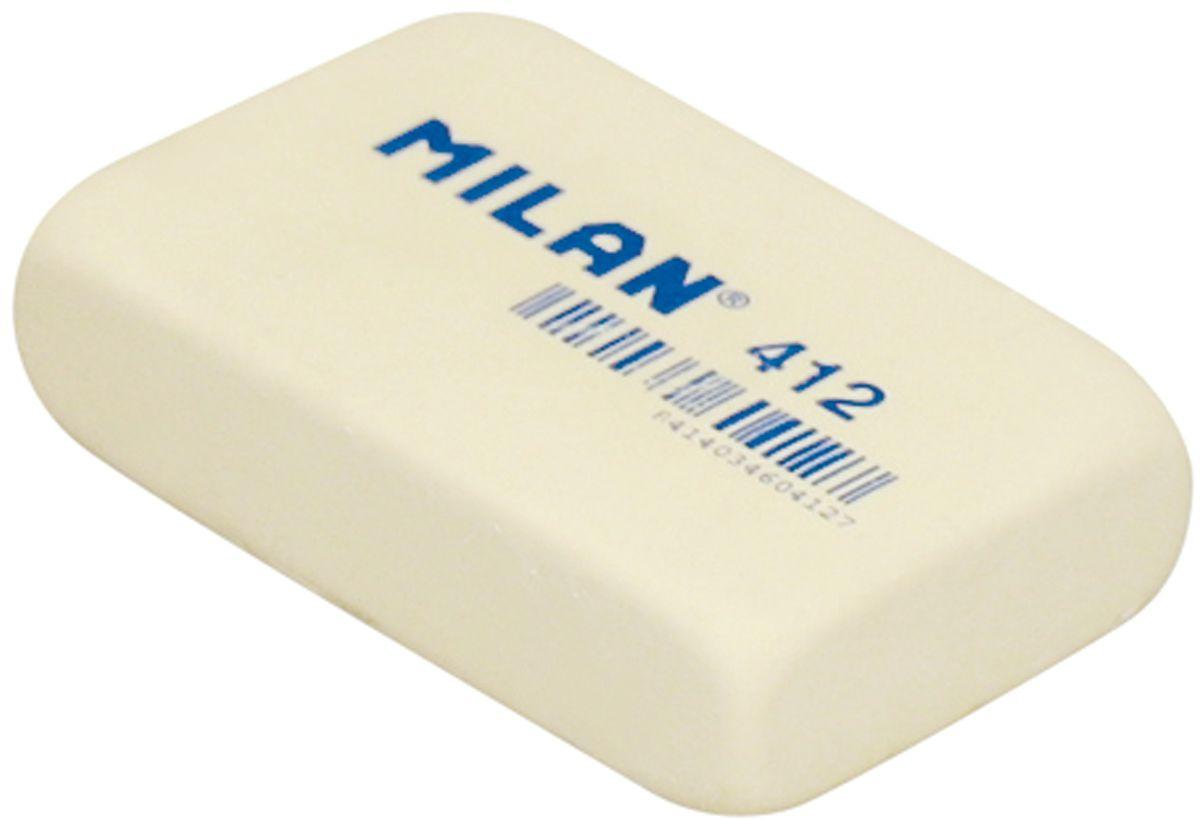 Milan Ластик 412 цвет молочныйCMM412Ластик Milan прямоугольной формы имеет мягкую структуру, и обладает высокой гибкостью, обеспечивая безупречное стирание.