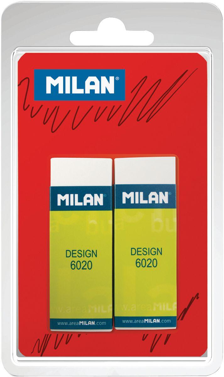Milan Набор ластиков Design 6020 2 штBPM9213Набор ластиков Milan Design 6020 из 2-х штук. ПВХ ластик прямоугольной формы. Подходит для всех видов поверхностей.