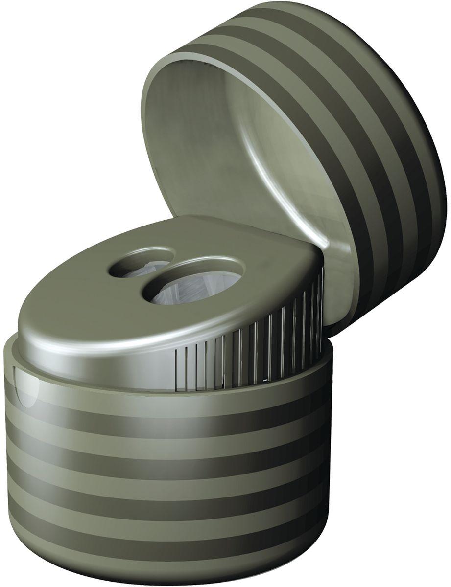 Milan ТочилкаDuet с контейнером20155212Дизайнерская точилка MILAN. Оснащена безопасной системой заточки. Эта система предотвращает отделение лезвия от точилки. Идеально подходит для использования в школах. Стальное лезвие острое и устойчиво к повреждению. Идеально подходит для заточки графитовых и цветных карандашей