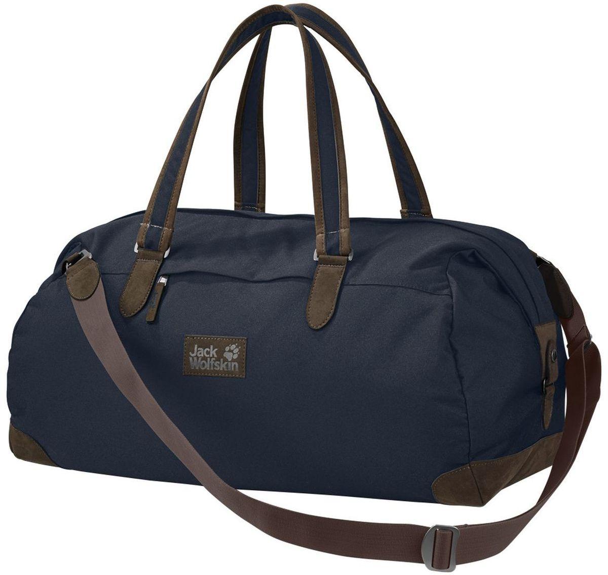 Сумка городская Jack Wolfskin Abbey Road 35, цвет: темно-синий, 35 л2005391-1010Небольшая сумка для путешествий и коротких поездок