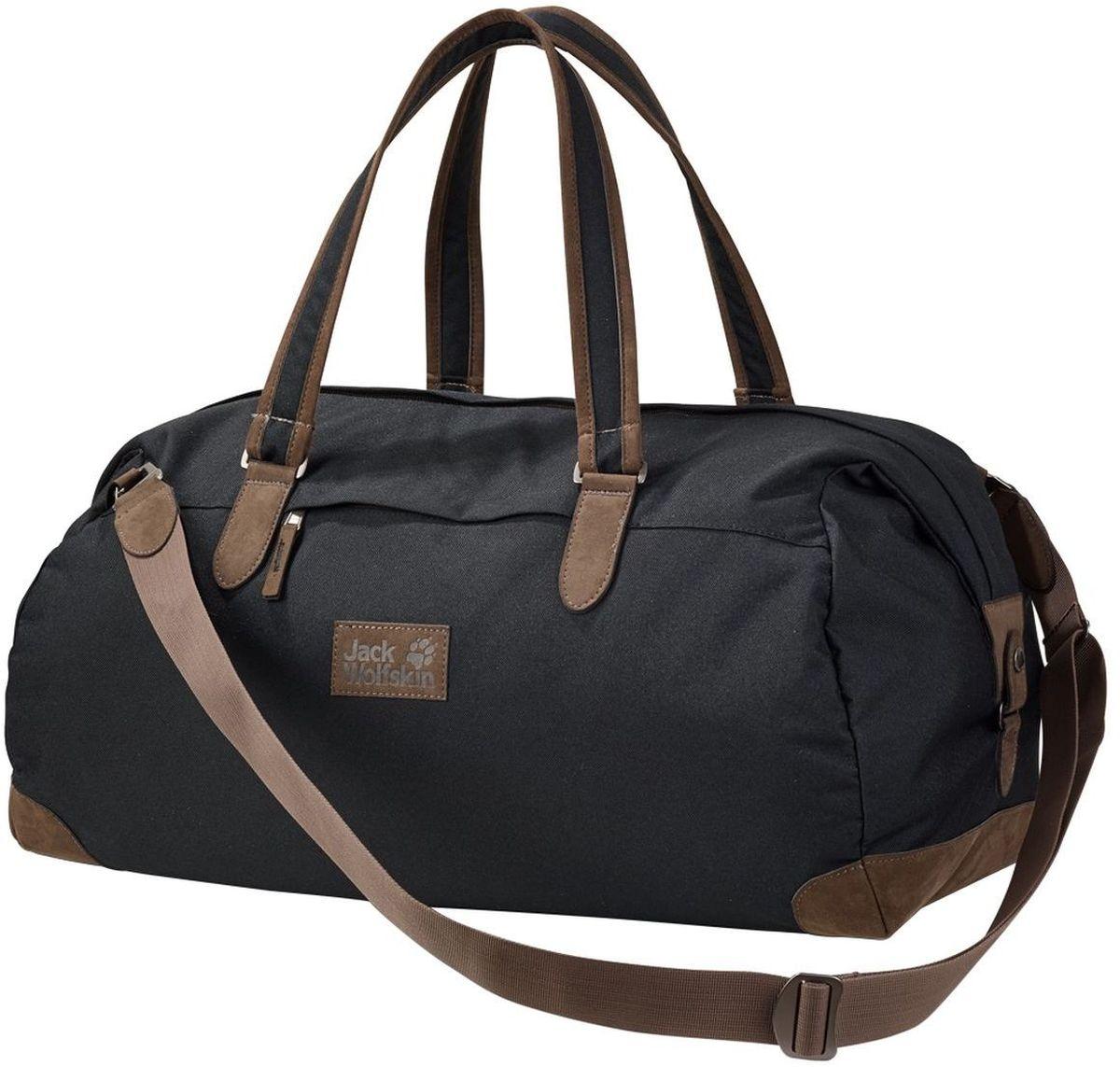 Сумка городская Jack Wolfskin Abbey Road 35, цвет: черный, 35 л2005391-6000Небольшая сумка для путешествий и коротких поездок