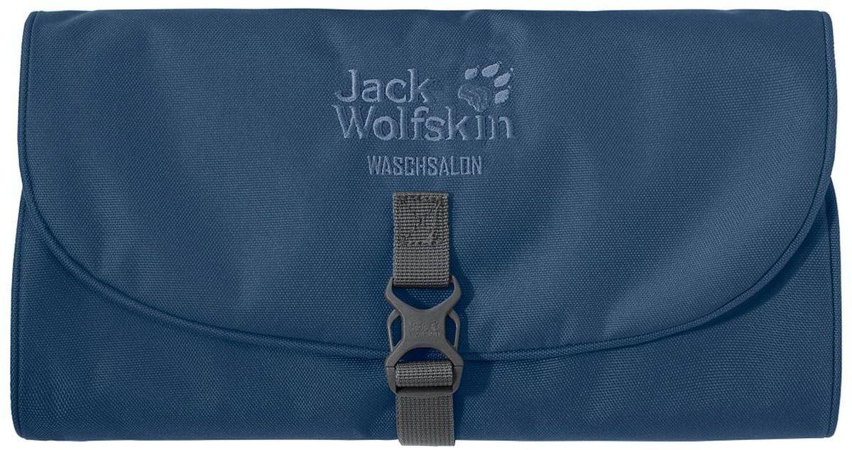 Нессесер Jack Wolfskin Waschsalon, цвет: синий, 1 л. 86130-158886130-1588Классика среди моделей несессеров