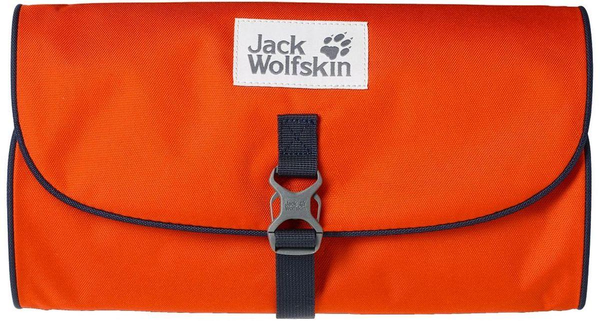 Нессесер Jack Wolfskin Waschsalon, цвет: оранжевый, 1 л86130-3023Классика среди моделей несессеров