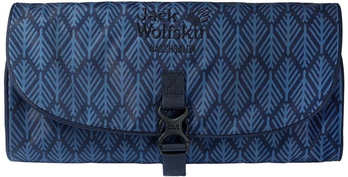 Нессесер Jack Wolfskin Waschsalon, цвет: синий, 1 л86130-7937Классика среди моделей несессеров