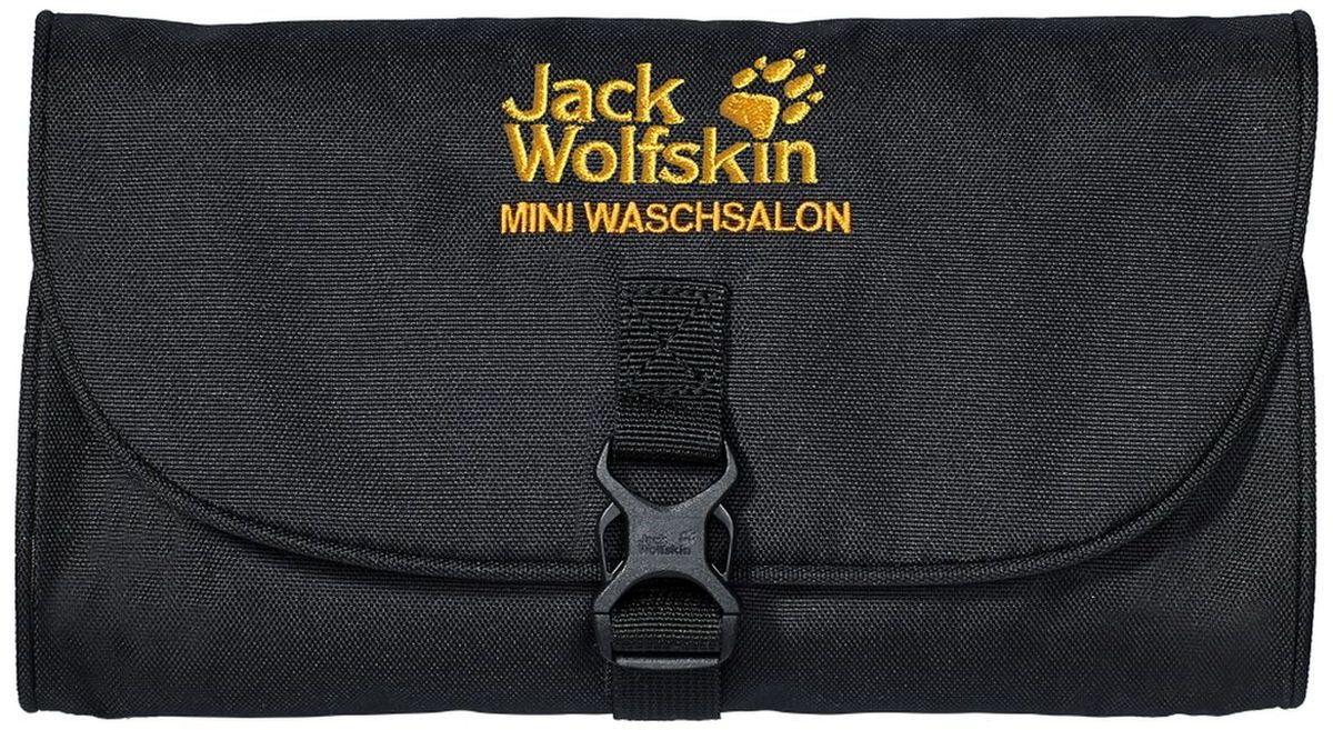 Нессесер Jack Wolfskin Mini Waschsalon, цвет: черный, 0,7 л86150-600Классический несессер в малом формате