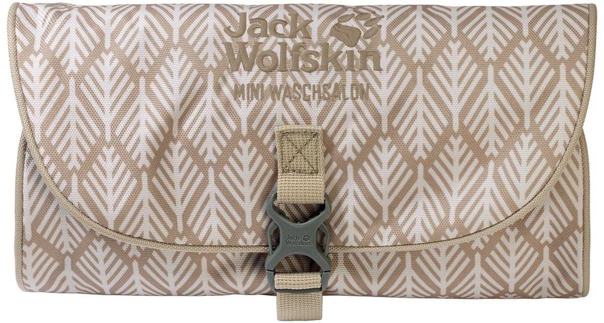 Нессесер Jack Wolfskin Mini Waschsalon, цвет: бежевый, 0,7 л86150-7938Классический несессер в малом формате