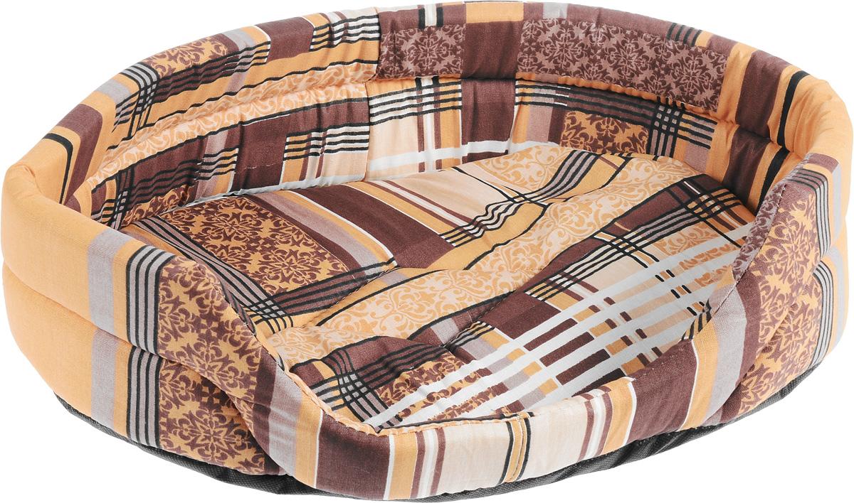Лежак для животных Elite Valley, цвет: коричневый, 46 х 33 х 13 смЛ1/2 Лежак открытый _ турин коричневый(клетка) материал бязь, поролонЛежак Elite Valley обязательно понравится вашему питомцу. Изделие выполнено из бязи (100% хлопка) и нетканого волокна, а наполнитель - из поролона. Такой материал не теряет своей формы долгое время. Внутри имеется мягкая съемная подстилка. Лежак Elite Valley обеспечит вашему любимцу уют, подарит спокойный и комфортный сон, а также убережет вашу мебель от многочисленной шерсти.