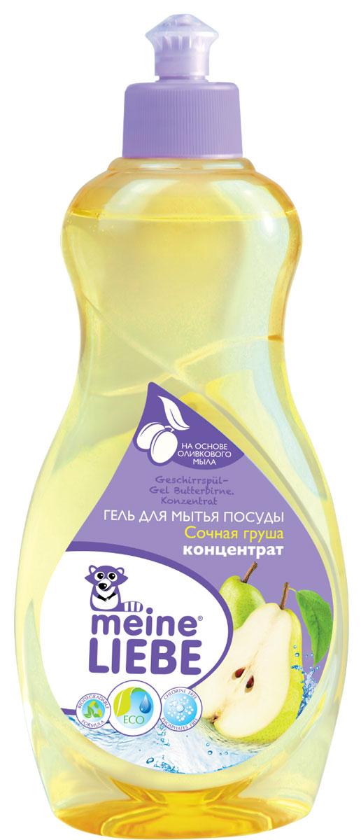 Гель для мытья посуды Meine Liebe, концентрат, с ароматом сочной груши, 500 млml32201Густой концентрированный гель Meine Liebe предназначен для мытья посуды. Он результативно удаляет въевшиеся жирные и засохшие загрязнения, придает ослепительный блеск. Гель эффективно растворяется как в горячей, так и в холодной воде. Полностью смывается с посуды, не оставляя следов средства и лишних запахов. Обладает приятным ароматом сочной груши. Гель для мытья посуды Meine Liebe обеспечивает мягкое и деликатное действие на кожу рук. Не содержит фосфатов, хлора, формальдегидов, растворителей. Состав: деминерализованная вода, 5-15% анионные ПАВ, 5-15% неионогенные ПАВ, 5-15% амфотерные ПАВ, краситель, отдушка, консервант. Товар сертифицирован. Уважаемые клиенты! Обращаем ваше внимание на возможные изменения в дизайне упаковки. Качественные характеристики товара остаются неизменными. Поставка осуществляется в зависимости от наличия на складе.