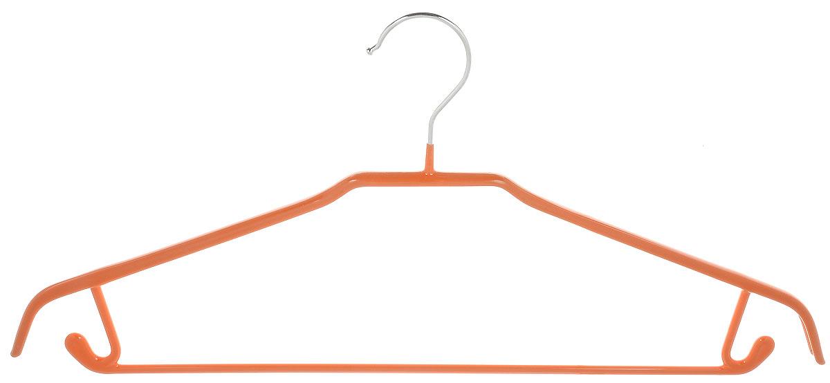 Вешалка универсальная Attribute Hanger Neo, цвет: оранжевый, длина 43 смAHS021Вешалка Attribute Hanger Neo изготовлена из качественной стали с антискользящим покрытием из ПВХ. Изделие оснащено перекладиной и боковыми крючками. Вешалка - это незаменимая вещь для того, чтобы одежда всегда оставалась в хорошем состоянии и имела опрятный вид. Длина вешалки: 43 см.