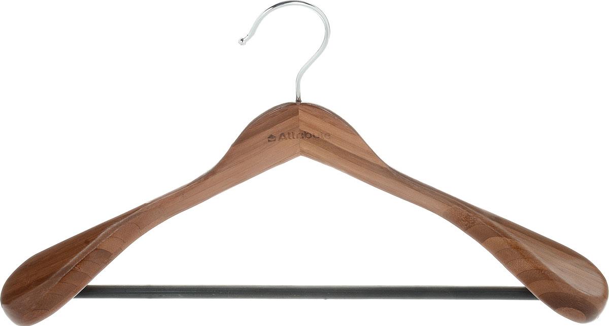 Вешалка для верхней одежды Attribute Hanger Bamboo, цвет: дерево, длина 44 смAHB211Вешалка для верхней одежды Attribute Hanger Bamboo выполнена из бамбука и оснащена перекладиной с нескользящим покрытием. Вешалка - это незаменимая вещь для того, чтобы ваша одежда всегда оставалась в хорошем состоянии. Длина вешалки: 44 см.