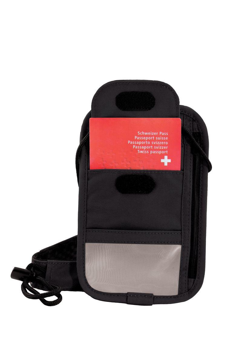 Кошелек Victorinox Lifestyle Accessories 4.0 Boarding Pouch, цвет: черный, 0,07 л31172101Коллекция Lifestyle Accessories 4.0 включает в себя широкий ассортимент решений для путешествий и повседневной жизни.Независимо от пункта назначения данные высокопрактичные аксессуары станут важнейшей составляющей вашей поездки. VICTORINOX арт. 31172101 КОШЕЛЁК-ОРГАНАЙЗЕР 13x1x20 см 0,08 кг • Надежное хранение денег и дорожных документов • Мягкий регулируемый шнурок • Большое отделение на молнии для хранения билетов, паспорта и большинства видов денежных купюр, специальный карман для дорожных документов и кармашек из микросетчатого материала для хранения документов, удостоверяющих личность