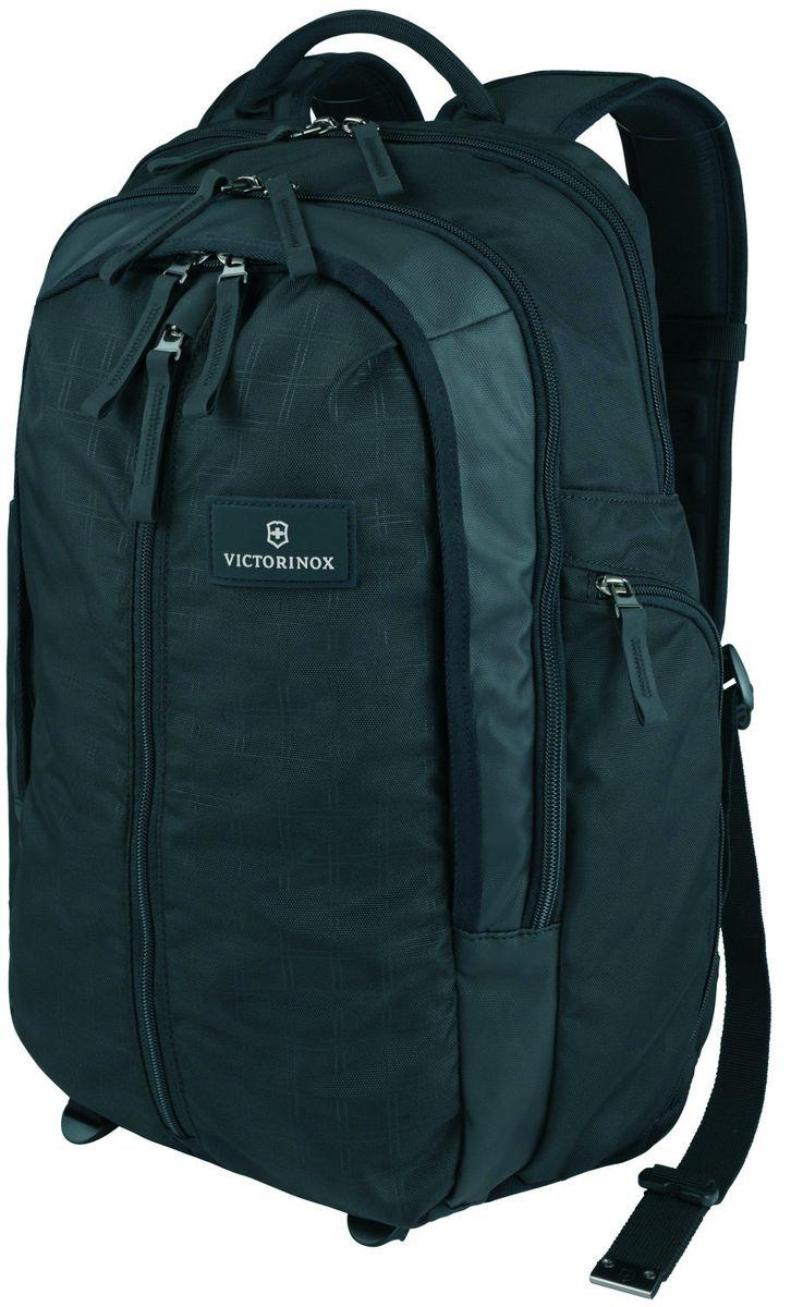 """Рюкзак городской Victorinox """"Altmont 3.0 Vertical-Zip Backpack"""", цвет: черный, 29 л + ПОДАРОК: нож-брелок """"Escort"""" 32388201"""