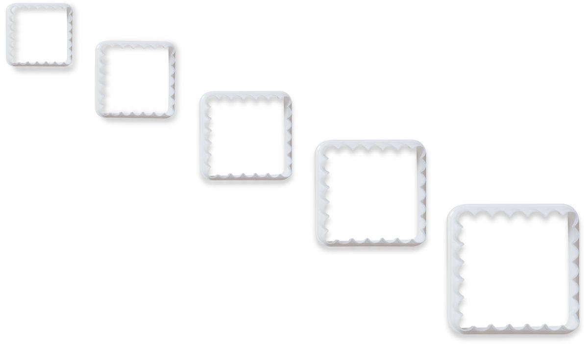 Формочки для вырезания печенья Dosh l Home PAVO, 5 шт. 300273300273Прекрасно подходят для легкого вырезания печенья 5 разных размеров из песочного, пряничного теста и теста для печенья. Изготовлены из высококачественного пластика.