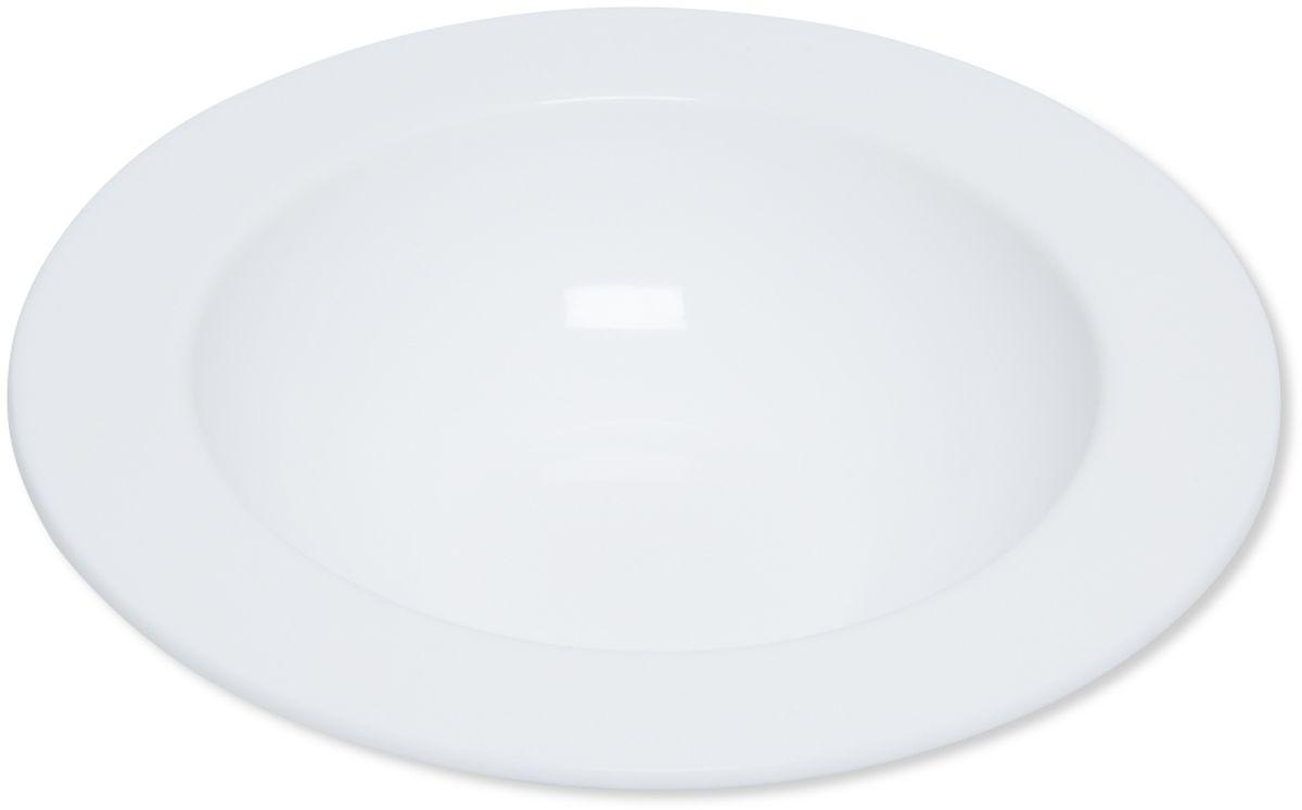 Тарелка глубокая Dosh l Home ADARA, 23 см400206Элегантные тарелки для стильной сервировки блюд и закусок. Изготовлены из высококачественного силикона белоснежного цвета. Силикон не впитывает запах и вкус продуктов, устойчив к царапинам. Подходит для микроволновой печи, холодильника. Можно мыть в посудомоечной машине. Мыть обычными моющими средствами, не использовать агрессивные вещества, металлические мочалки, острые предметы и т.д..