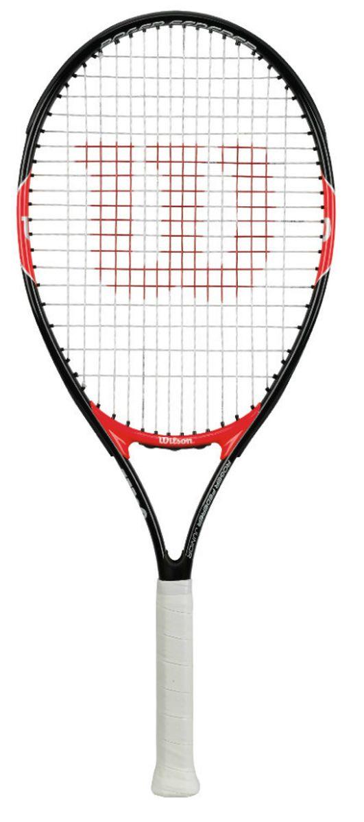 Ракетка теннисная детская Wilson Roger Federer 26WRT200900Ракетка Wilson Roger Federer 26 рассчитана на юных спортсменов, как правило старше 11 лет, ростом выше 145 см. Чаще всего детские ракетки для большого тенниса делают из алюминия. Это происходит по двум причинам: инвентарь получается легким по весу и его стоимость не выходит за разумные пределы.