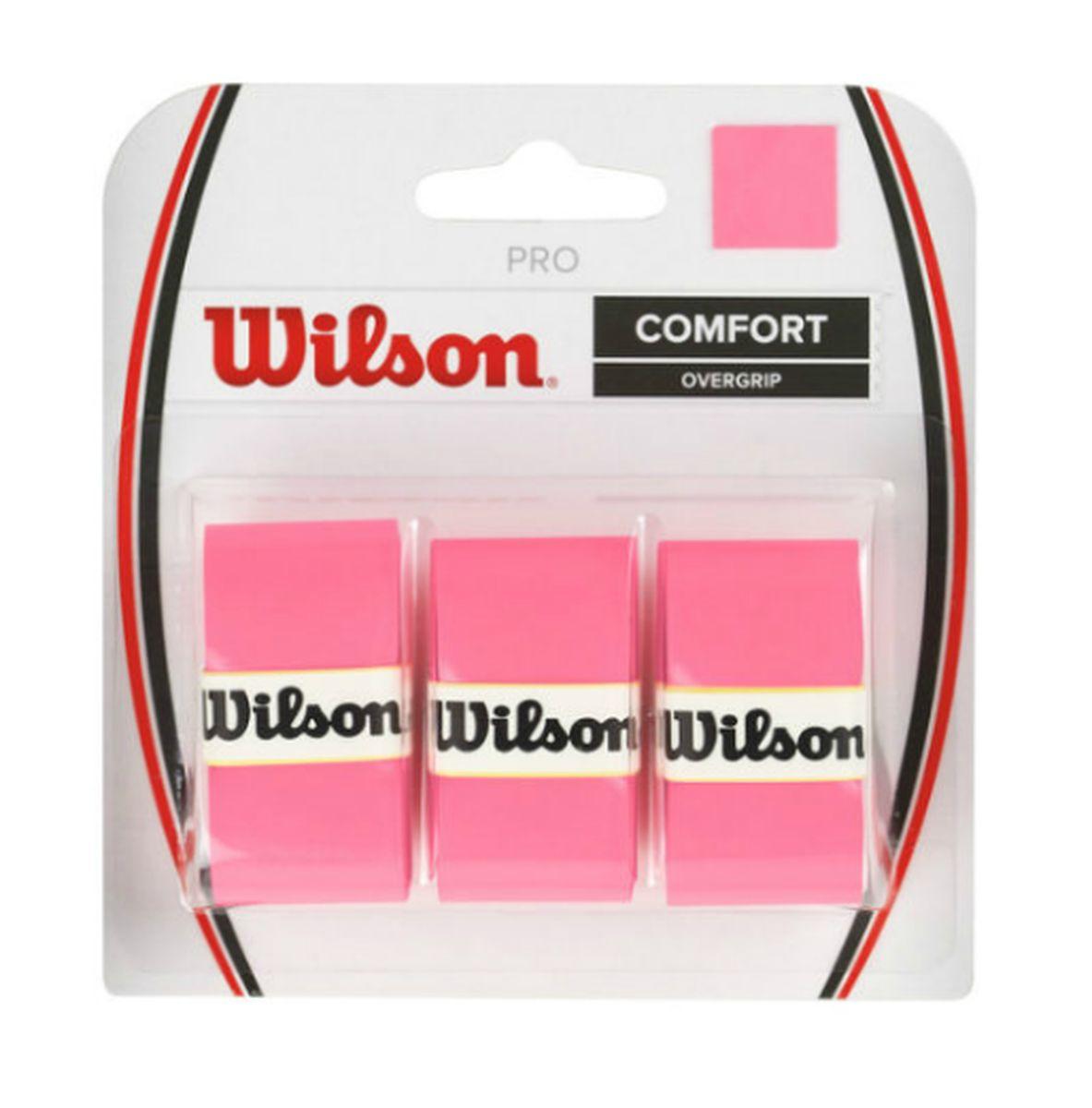 Обмотка Wilson Pro Overgrip, цвет: розовыйWRZ4014PKСамый популярный овергрипп в мире. Выбор Лидеров мирового Тенниса Серены и Роджера