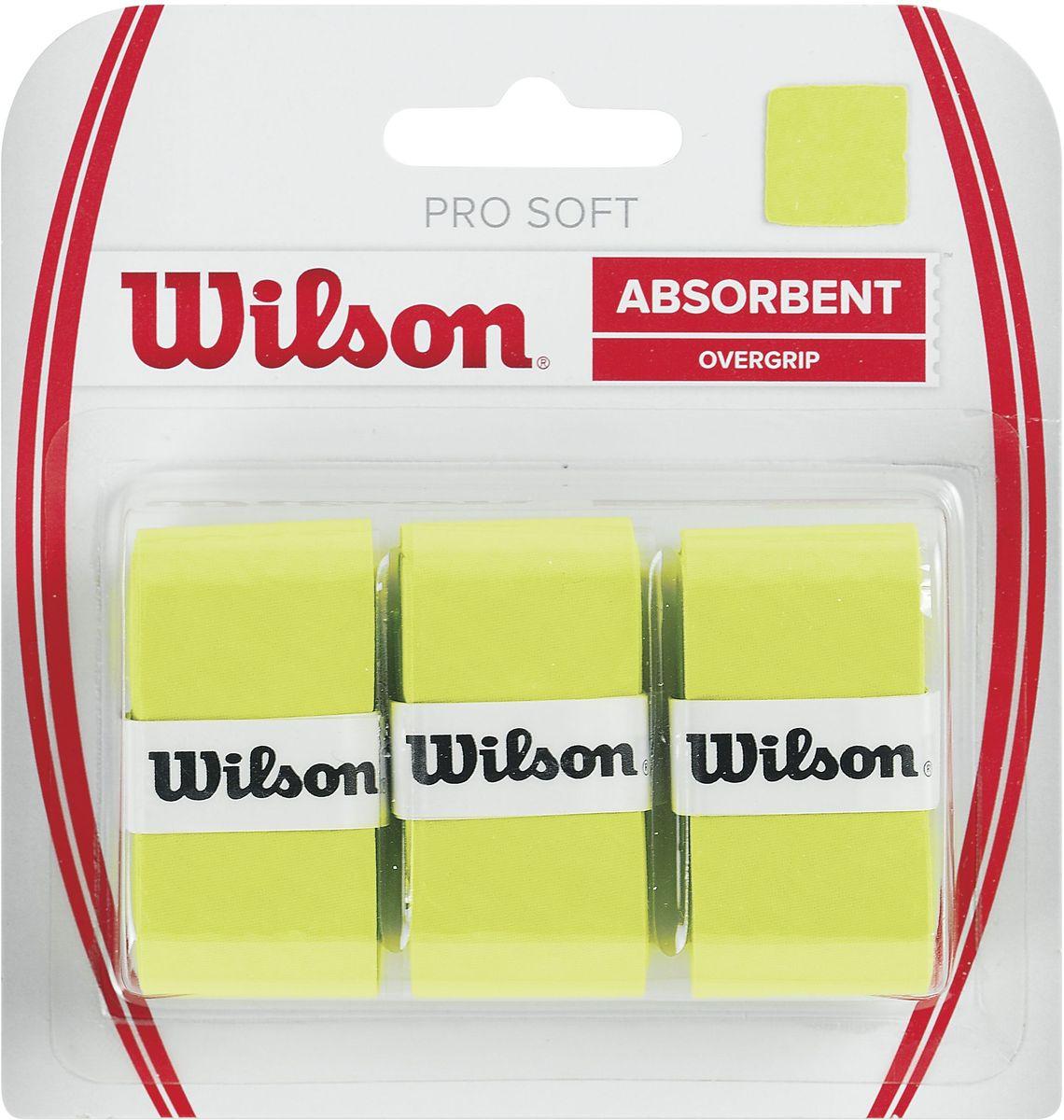 Обмотка Wilson Pro Soft Overgrip, цвет: фиолетовыйWRZ4040LIСамый популярный овергрипп в мире, разработанный для макисмального влагопоглащения. Подойдёт для игры в жарком и влажном климате. Выбор Лидеров мирового Тенниса Серены и Роджера