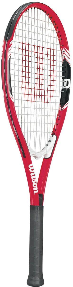 Ракетка теннисная Wilson Federer, ручка 3WRT30400U3Именная серия Роджера Федерера. Теннисная ракетка Wilson Federer прекрасно подойдёт почитателям творчества Мастера и спортсменам начального и среднего игрового уровня. Классический и современный дизайн повторяющий цвета ракетки Роджера.