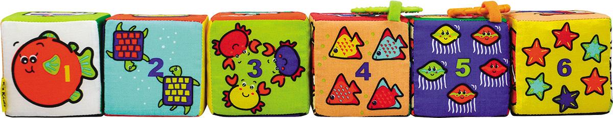 Ks Kids Кубики-пазлыKA622Кубики-пазлы подарят удивительные игры крохе. Кубики-пазлы - это яркий пример тех развивающих игрушек, которые должны быть обязательно у ребенка для его всестороннего развития. Каждая сторона кубика вызовет бурю эмоций у ребенка, так как это маленький сюрприз. Процесс обучения происходит в виде игры, очень разнообразно, что не скоро наскучит ребенку. В комплект входят 6 мягких красочных кубиков. Кубики небольшие, размер одной стороны составляет 9 см, поэтому ребенку будет удобно их держать. Мягкий конструктор от KsKids разнообразен и многофункционален, так как с ним можно играть, строить дома или подбирать картинки, изучать цифры, геометрические фигуры в игровой форме. К двум кубикам прикреплены прорезыватели, 2 кубика гремят, а остальные 2 кубика шуршат. Со временем малыш сможет самостоятельно сложить пазл из разных картинок. У мягких кубиков нет острых углов, поэтому они абсолютно безопасны для детей. С помощью такой игрушки для новорожденных малыш развивает свое воображение и...