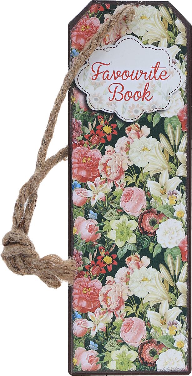 Magic Home Закладка декоративная для книг Райский сад43581Декоративная закладка для книг Magic Home Райский сад - великолепный подарок для тех, кто не мыслит свою жизнь без книг. Закладка представляет собой пластину из черного окрашенного металла с текстильным шнурком. Закладка украсит не только книгу, но сделает нарядным и оригинальным стандартный органайзер или семейный альбом.