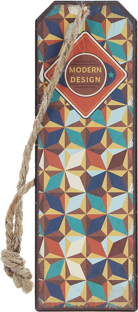 Magic Home Закладка декоративная для книг Модерн43574Декоративная закладка для книг Magic Home Модерн - великолепный подарок для тех, кто не мыслит свою жизнь без книг. Закладка представляет собой пластину из черного окрашенного металла с текстильным шнурком. Закладка украсит не только книгу, но сделает нарядным и оригинальным стандартный органайзер или семейный альбом.