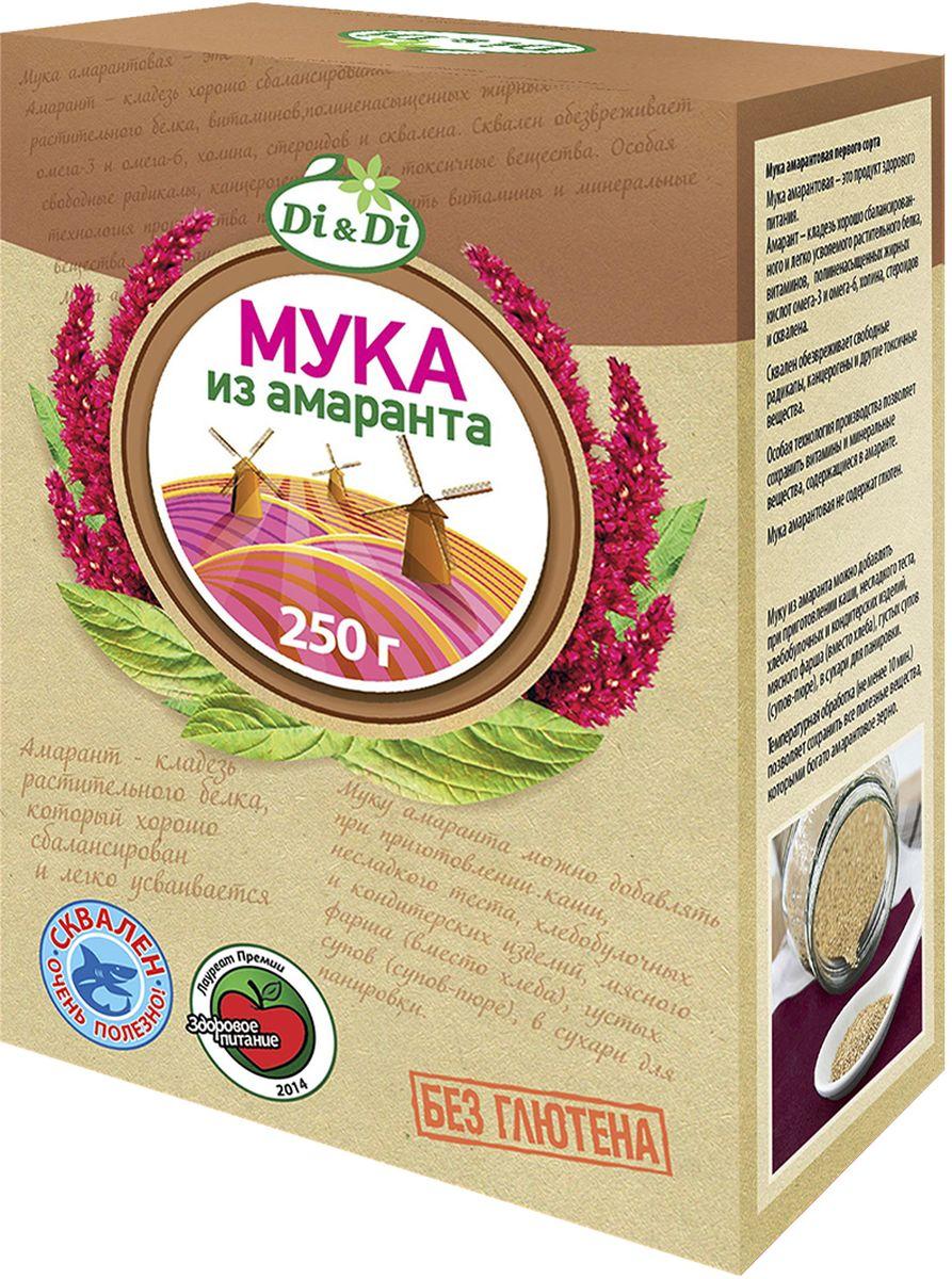 Di&Di Мука амарантовая первого сорта, 250 г4606938004798Мука из амаранта первого сорта. Без глютена.