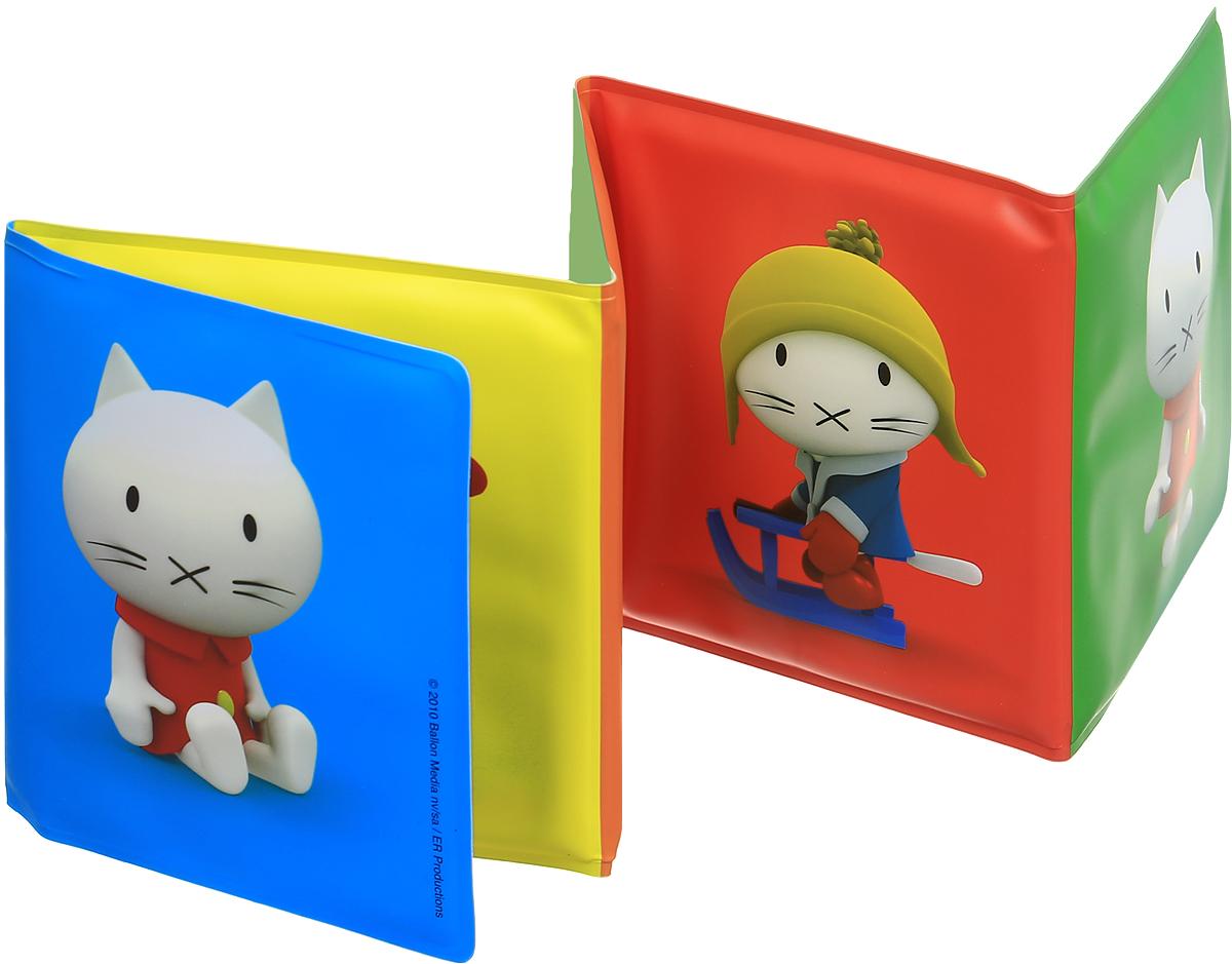 Machaon Книжка-игрушка для ванной Musti Что это такое?978-5-389-04142-4, 978-90-374-7631-6Книжка-игрушка для ванной Machaon Musti. Что это такое? предназначена для самых маленьких читателей и превратит купание малыша в веселую развивающую игру. В книжке малыш увидит красочные картинки с котятами Мусти из популярного мультсериала. Внутри первой странички спрятана забавная пищалка - малышу очень понравится нажимать на нее. Эта книжка-игрушка поможет малышу произнести первые слова, развить зрительное, слуховое и тактильное восприятие. Книжка изготовлена из водонепроницаемого материала, поэтому ваш ребенок может играть с ней в ванной или на пляже.