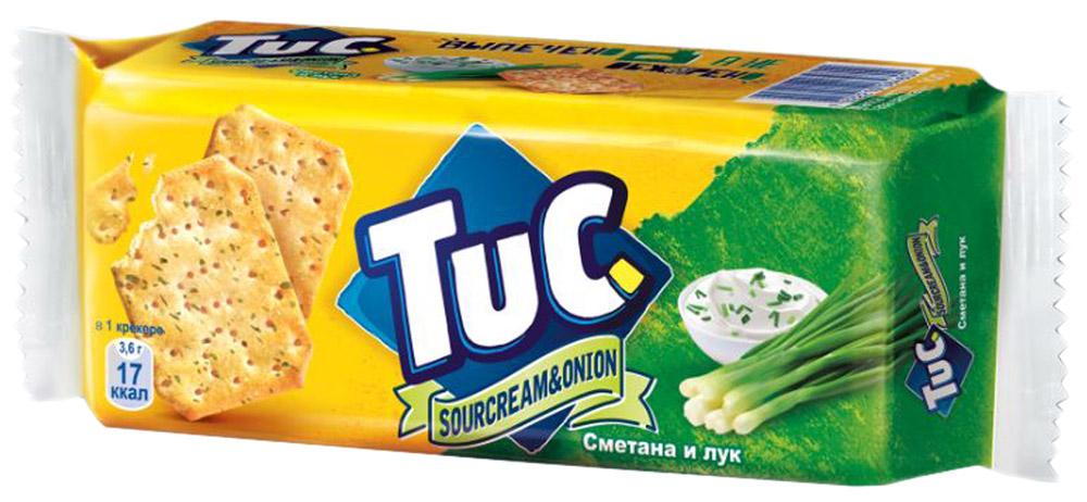 Tuc Крекер со вкусом сметаны и лука, 100 г