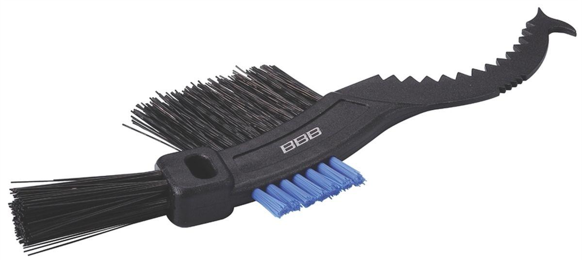 Щетка для кассет BBB ToothBrush, цвет: черныйBTL-17Утолщенная щетина для чистки кассет. Износостойкая нейлоновая щетина не теряет жесткости. Можно мыть.