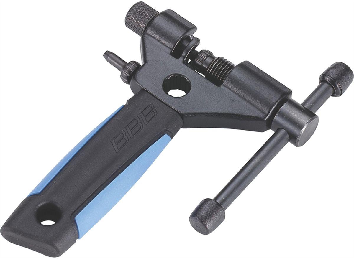 Выжимка цепи BBB Nautilus IIBTL-05Профессиональная выжимка для цепи. Подходит к любым цепям, включая 11-скоростные. Для Campagnolo - до 10-скоростных. Регулируется в зависимости от толщины цепи. Из прочной стали с удобной резиновой ручкой. Запасной пин в комплекте.