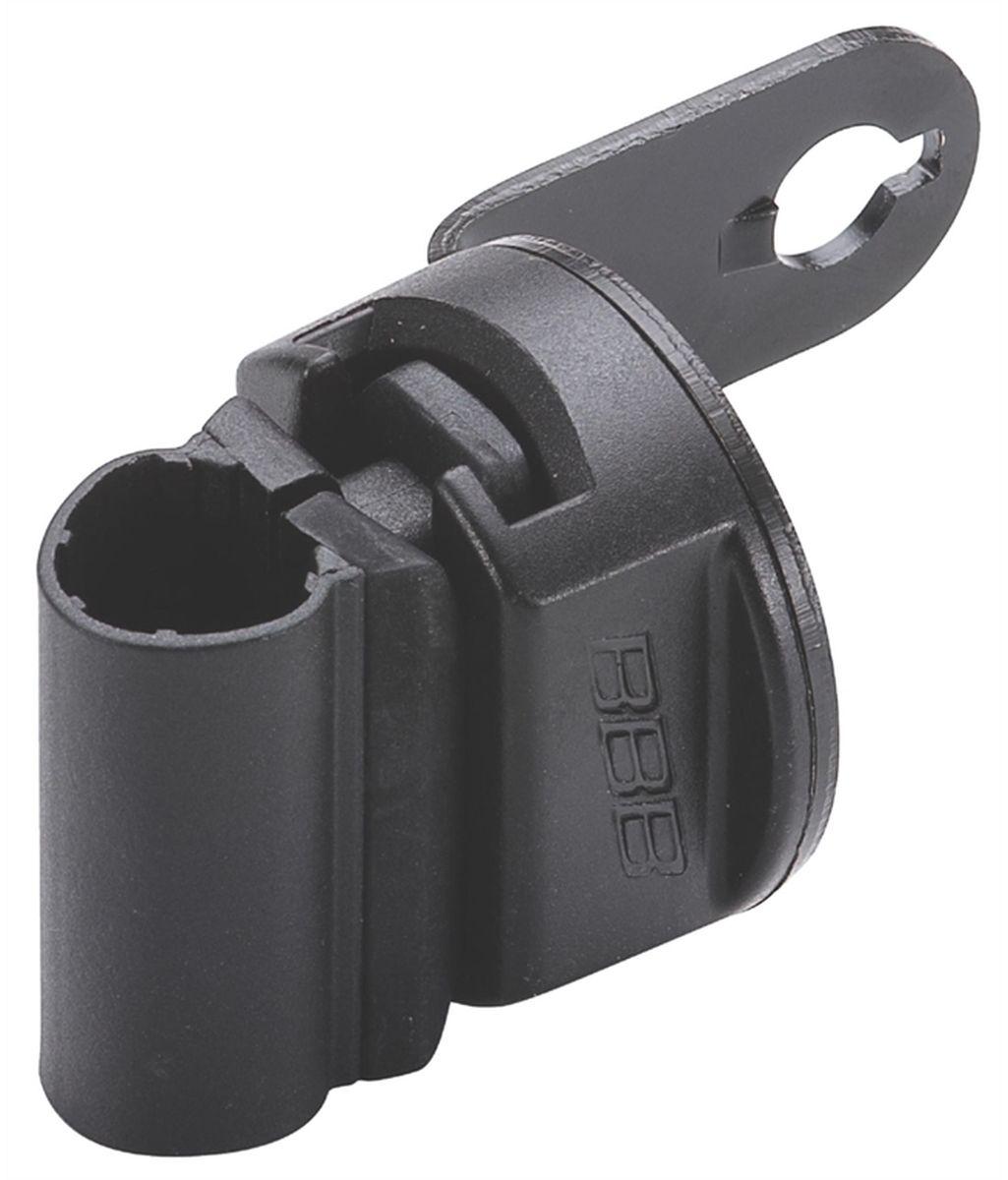 Держатель для велозамка BBB CableFix BracketBBL-92Универсальная крепежная скоба для тросов с замком BBB. Скоба крепится к подседельному штырю. Подходит для тросов диаметром: 6, 8, 10 и 12 мм.