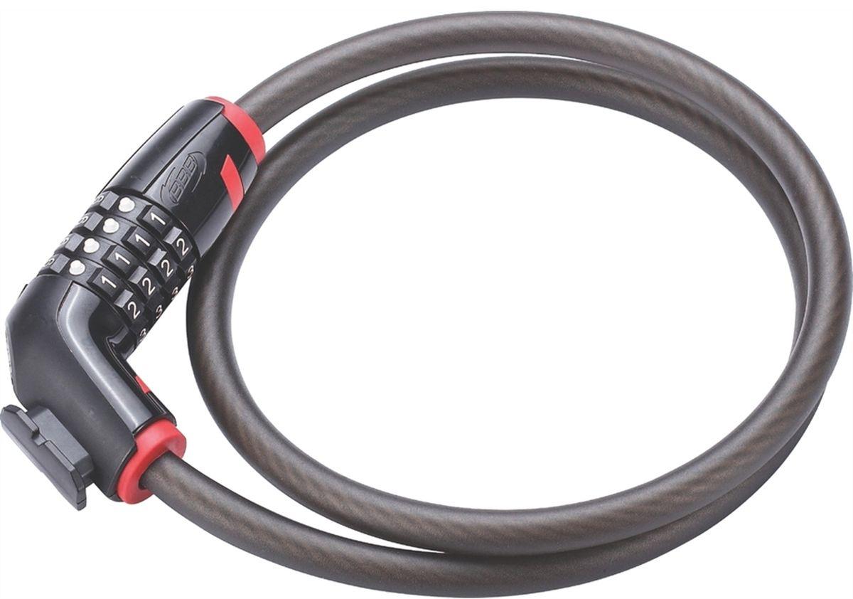 Замок велосипедный BBB CodeLock, кодовый, 12 мм x 1 мBBL-46Высокого уровня безопасности велосипедный замок. Прочный блокиратор с усиленной защитой. Толстый и прочный витой внутренний стальной трос обеспечивает максимальную защиту. 4-значный цифровой код. Владелец может изменить цифровой код. Блокиратор из прочного металла. Пластиковое покрытие для защиты краски вашего велосипеда от сколов и царапин. Размеры: 12 / 18 x 1000 мм. Совместимость с BBL-92 CableFix и BBL-93 CableTie.