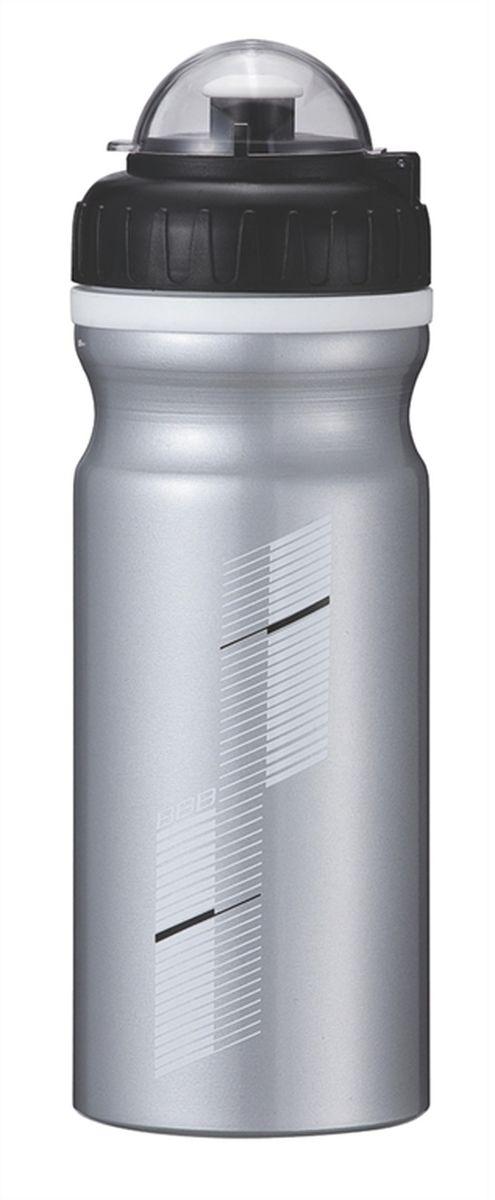 Бутылка для воды BBB AluTank, велосипедная, цвет: серебристый, черный, 680 млBWB-25Бутылка для воды BBB AluTank изготовлена из высококачественного алюминия, безопасного для здоровья. Закручивающаяся крышка с герметичным клапаном для питья обеспечивает защиту от проливания. Оптимальный объем бутылки позволяет взять небольшую порцию напитка. Она легко помещается в сумке или рюкзаке и всегда будет под рукой. Такая идеальная бутылка небольшого размера, но отличной вместимости наполняет оптимизмом, даря заряд позитива и хорошего настроения. Бутылка для воды - отличное решение для прогулки, пикника, автомобильной поездки, занятий спортом и фитнесом.
