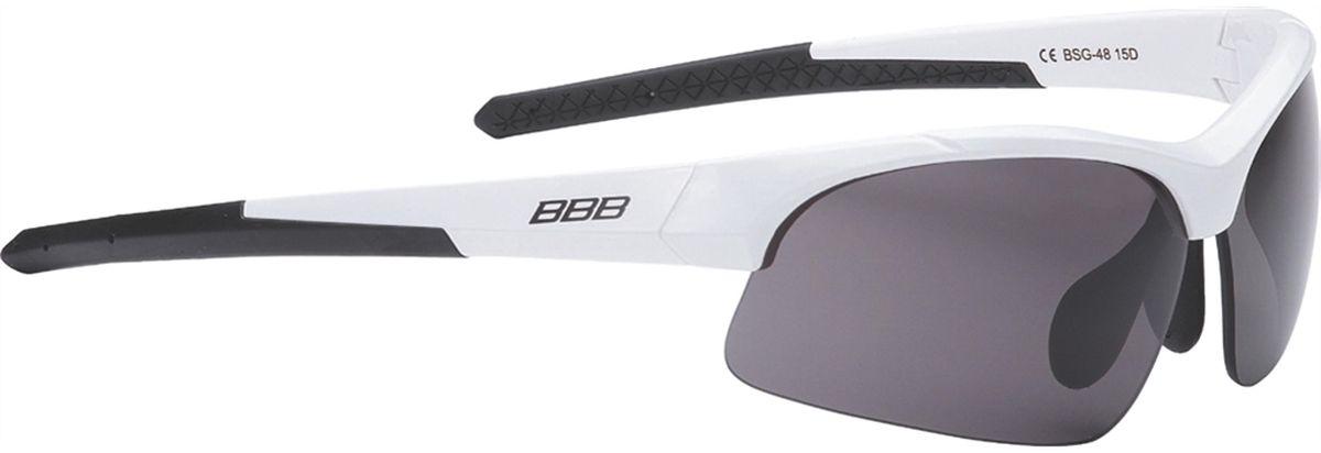 Очки солнцезащитные BBB Impress Small PC Smoke Lenses, цвет: белыйBSG-48Специальная версия очков для людей с меньшим размером головы. Спортивные очки современного стиля в легкой оправе. Сменные поликарбонатные линзы. Форма линз обеспечивает защиту от солнца, пыли и ветра. 100% защита от ультрафиолета. Поликарбонатная оправа с регулируемой переносицей. Мешочек для хранения в комплекте. Дополнительные линзы в комплекте: желтая и прозрачная.
