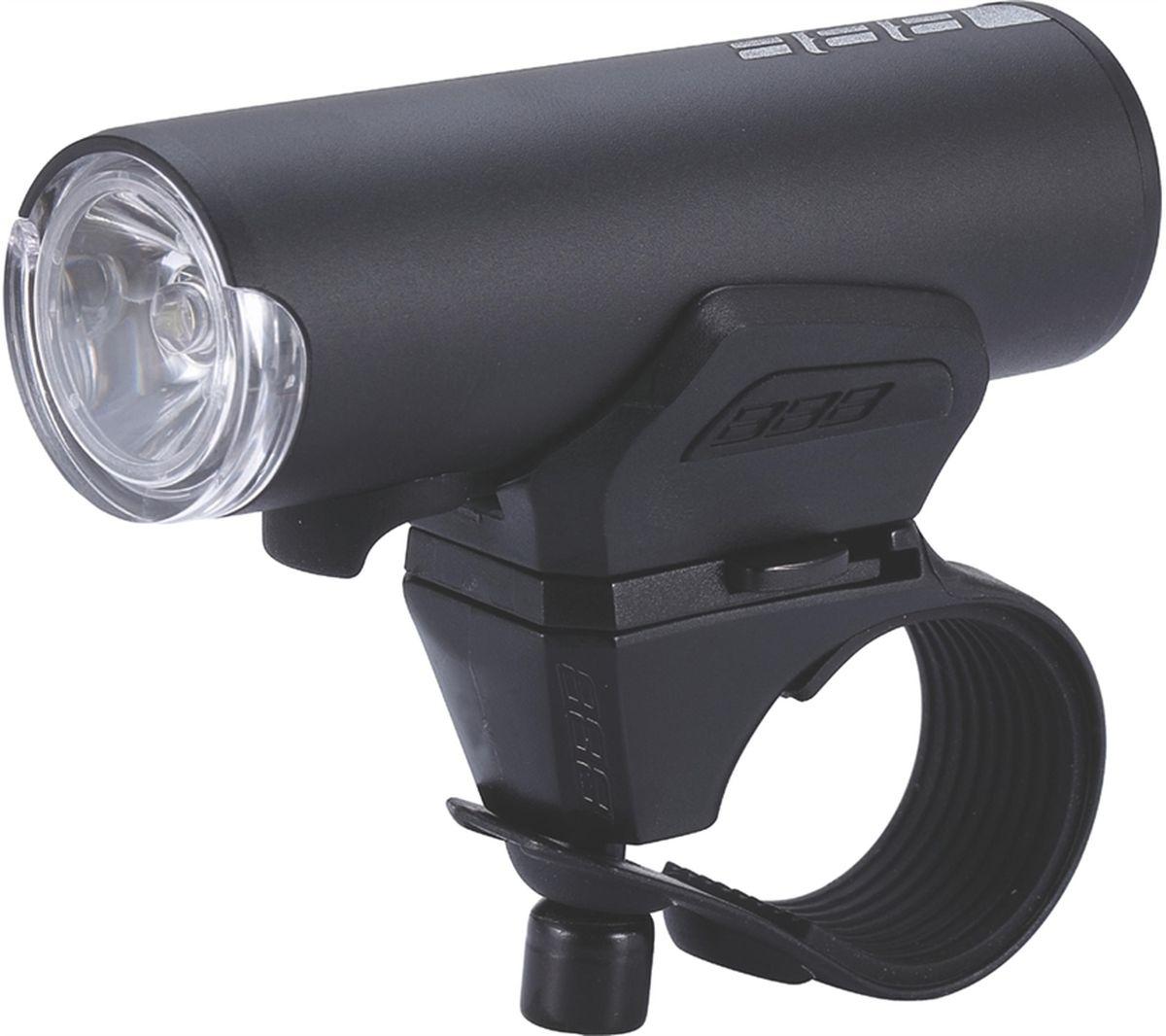 Фонарь велосипедный BBB Scout 200 Lumen LED, передний, цвет: серый, черныйBLS-115Scout - это идеальный товарищ для вашего городского, или туристического велосипеда. Он очень компактный и лёгкий, с мощным световым потоком и четырьмя режимами работы. Этот фонарь можно устанавливать как на руль, так и на шлем. Мощный светодиод XPG CREE LED со световым потоком 200 Люмен. Быстро и просто заряжается от USB. Индикатор заряда батареи. Водонепроницаемый. Алюминиевый корпус. Литий-полимерный аккумулятор (1000mAh, 3.7V). 4 режима: яркий, стандартный, экономичный и мигающий. В комплекте крепление на руль TightFix (BLS-94). В комплекте кабель micro USB. Вес: 100 гр. (в комплекте с креплением). Размер: 31 х 32 х 86 мм. Цвет: черный.
