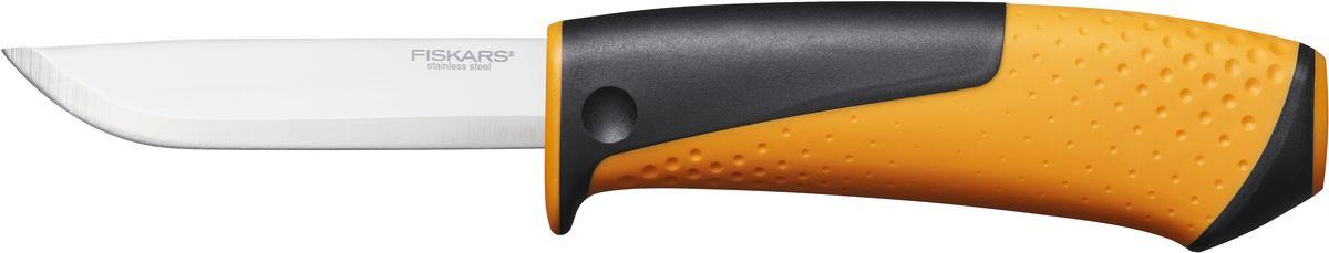Нож универсальный Fiskars, с точилкой1023618