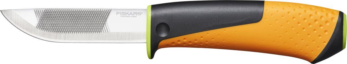 Нож для тяжелых работ Fiskars, с точилкой1023619