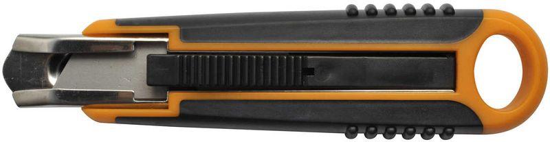 """Нож """"Fiskars"""" с выдвижным лезвием, безопасный, 18 мм 1393CF"""