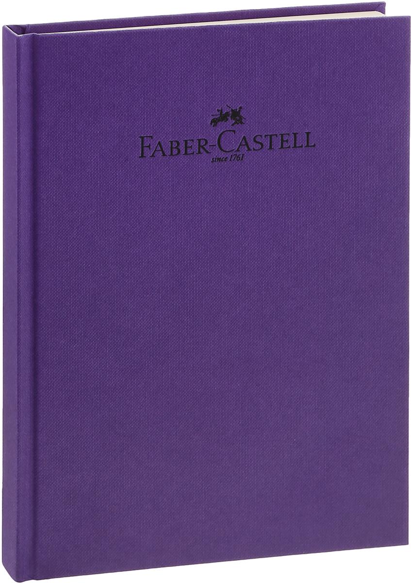 Faber-Castell Блокнот Natural 70 листов в линейку цвет фиолетовый400851Блокнот Faber-Castell Natural - незаменимый атрибут современного человека, необходимый для рабочих и повседневных записей в офисе и дома. Обложка блокнота выполнена из плотного картона и оформлена надписью бренда. Внутренний блок состоит из 70 листов бумаги светло-кремового цвета. Стандартная линовка в серую линейку без полей. Листы блокнота надежно сшиты, имеет ляссе.