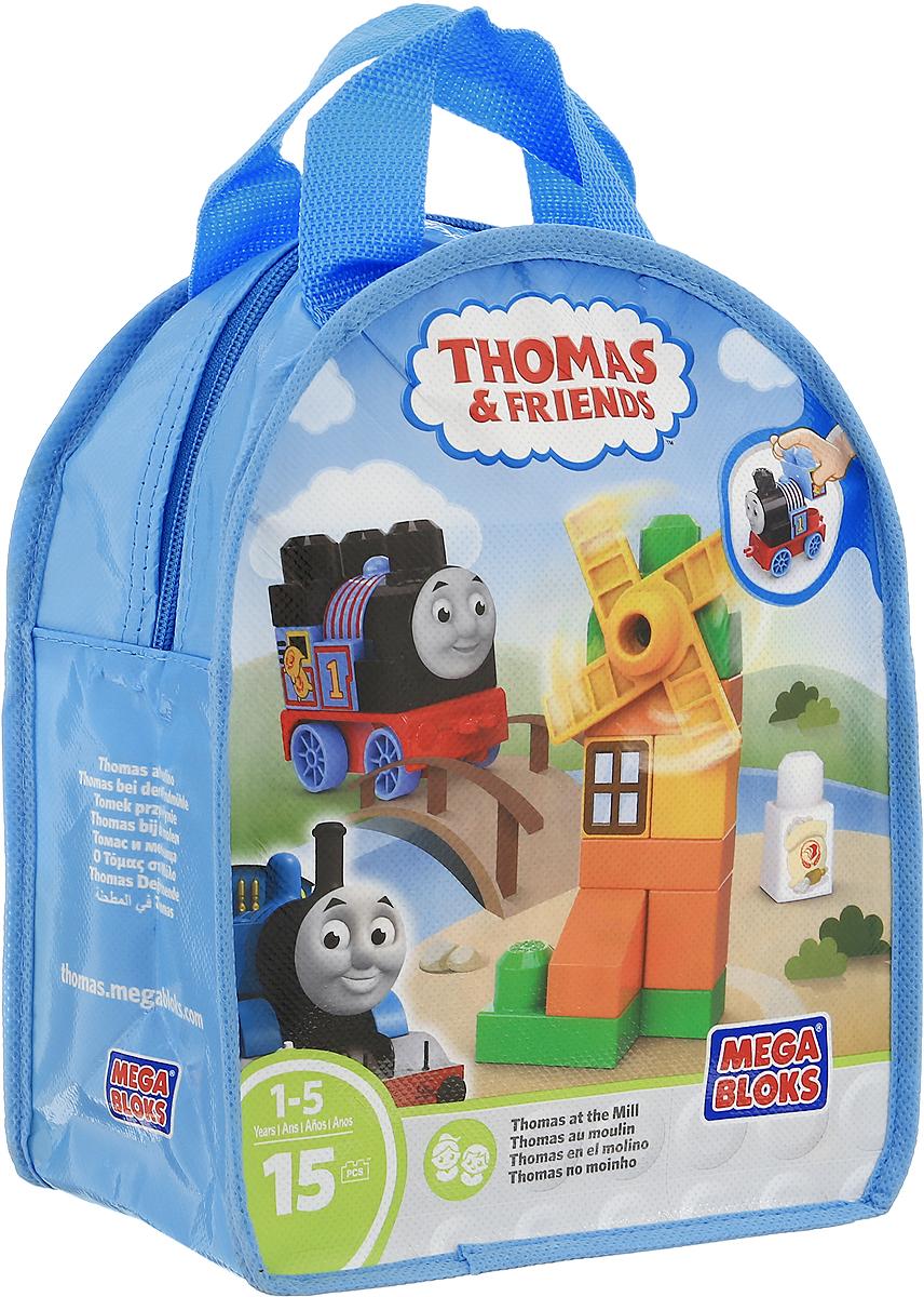 Mega Bloks Thomas & Friends Конструктор Томас и мельницаDXH52_DXH53Что может быть лучше, чем приключение с осмотром достопримечательностей вместе с Томасом? Томас обожает все красивые уголки острова Содор - и ваш малыш присоединится к своему любимому синему паровозу, вместе отправляясь на мельницу! Используйте блоки и специальные детали, чтобы построить мельницу. Затем отправьте Томаса в путь и крутите лопасти мельницы снова и снова! А еще на Томаса можно погрузить муку. Созданный для маленьких ручек, этот удобный конструктор включает в себя сборный паровозик Томаса, украшенный специально для поездки к мельнице. Конструктор - это один из самых увлекательных и веселых способов времяпрепровождения. Ребенок сможет часами играть с конструктором, придумывая различные ситуации и истории.