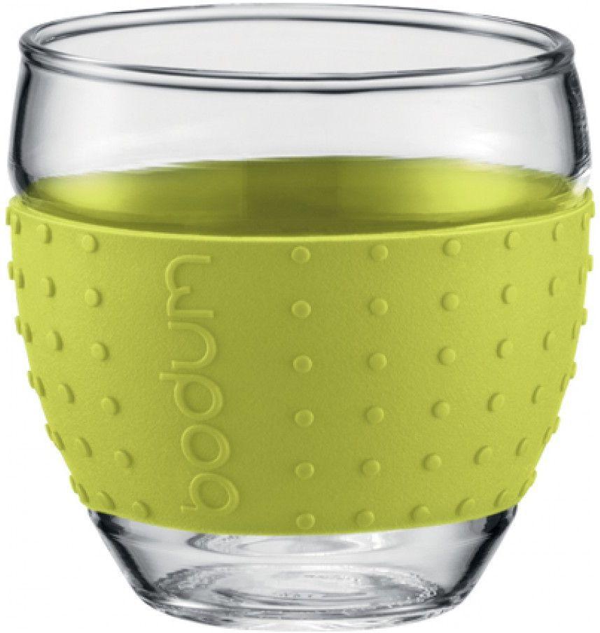 Набор бокалов Bodum Pavina, 2 шт, цвет: лимонный, 350 мл11185-