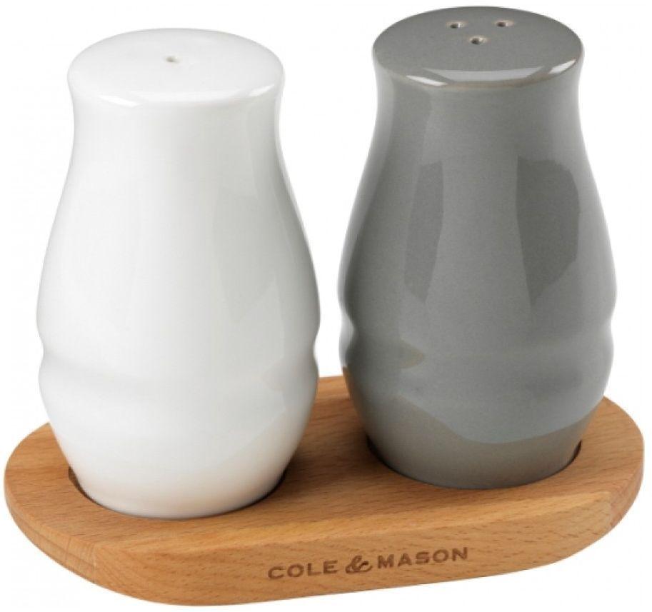 Набор солонка и перечница Cole & Mason, на подставкеH106469