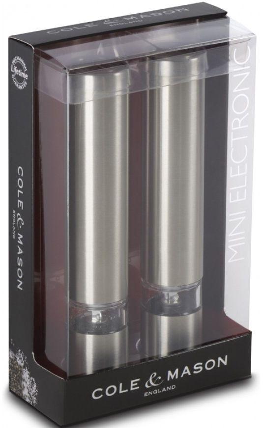 Набор мельниц для соли и перца Cole&Mason Chiswick, электрическиеH3057480