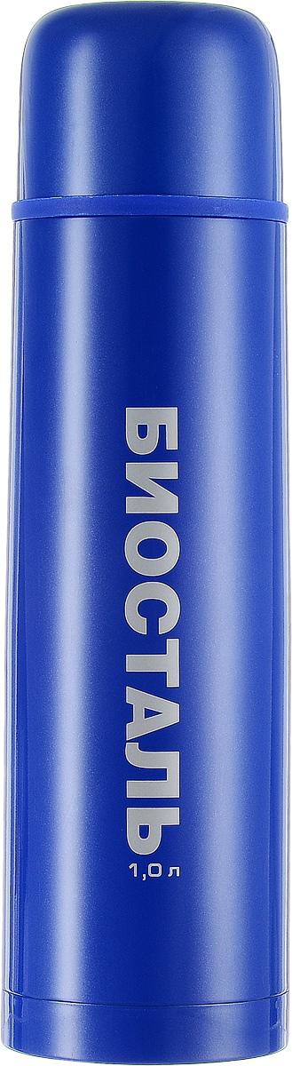 Термос Biostal, цвет: синий, 1 лNB-1000С-ВТермос Biostal прост в использовании и многофункционален. Он изготовлен из высококачественной нержавеющей стали. Термос предназначен для хранения горячих и холодных напитков. Корпус изделия покрыт защитным цветным лаком. Удобная пробка с кнопкой позволяет наливать напитки, не отвинчивая саму пробку. Крышку термоса можно использовать в качестве чашки.