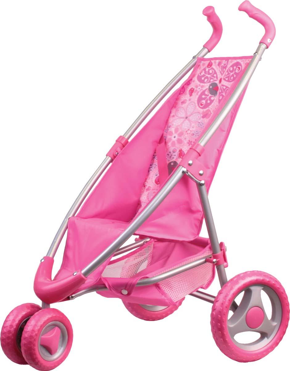Gulliver Коляска прогулочная розовая 22-1204222-12042