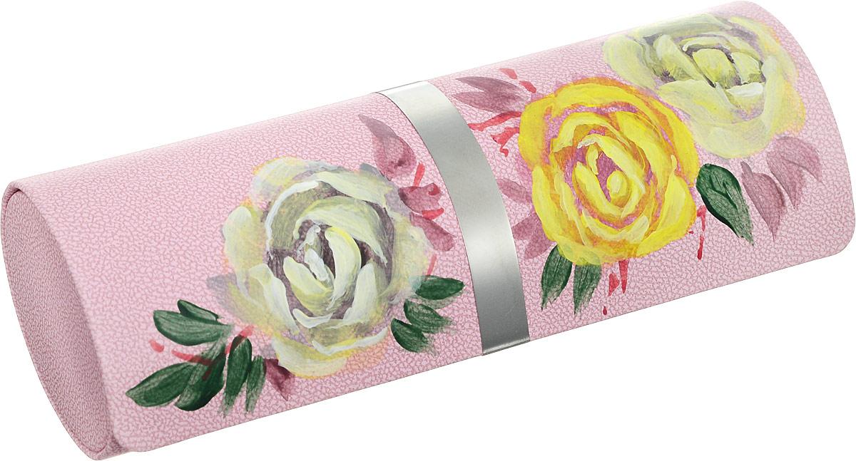 Футляр для очков Феодора Белые розы, цвет: розовый. Ручная роспись. FM-1004-BRFM-1004-BRСтильный футляр для очков Феодора Белые розы выполнен из искусственной кожи и расписан вручную. Футляр закрывается на скрытый магнит. Внутренняя часть оформлена мягким бархатистым материалом.