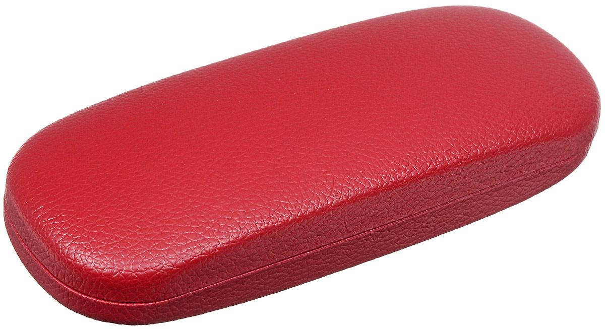 Proffi Home Футляр для очков Fabia Monti, овальный, цвет: красный