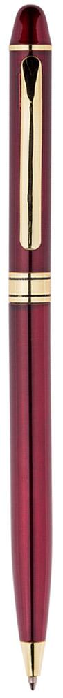Berlingo Ручка шариковая Golden Premium цвет корпуса бордовыйCPs_70133Изящная тонкая автоматическая шариковая ручка Berlingo Golden Premium с поворотным механизмом. Удобный клип. Предназначена для письма на бумаге. Диаметр пишущего узла - 0,7 мм. Цвет чернил - синий. Подходит для нанесения логотипа. Ручка упакована в индивидуальный пластиковый футляр.