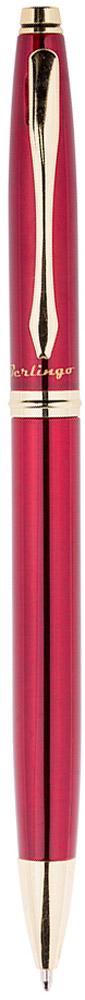 Berlingo Ручка шариковая Silver Luxe цвет корпуса бордовыйCPs_70413Классическая автоматическая шариковая ручка Berlingo Silver Luxe с поворотным механизмом. Клип, наконечник и кольцо выполнены из жёлтого металла. Цвет чернил - синий. Диаметр пишущего узла - 0,7 мм. Подходит для нанесения логотипа. Ручка упакована в индивидуальный пластиковый футляр.
