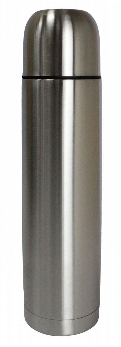 Термос Vetta Булет, 500 мл841026Термос Vetta 500 мл, изготовленный из высококачественной нержавеющей стали, прост в использовании и многофункционален. Изделие имеет двойные стенки, что позволяет содержимому долго оставаться горячим или холодным. В комплект входит удобная сумка для переноски термоса. Термос сохраняет температуру горячих или холодных продуктов до 24 часов.